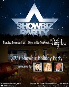 las vegas showbiz party