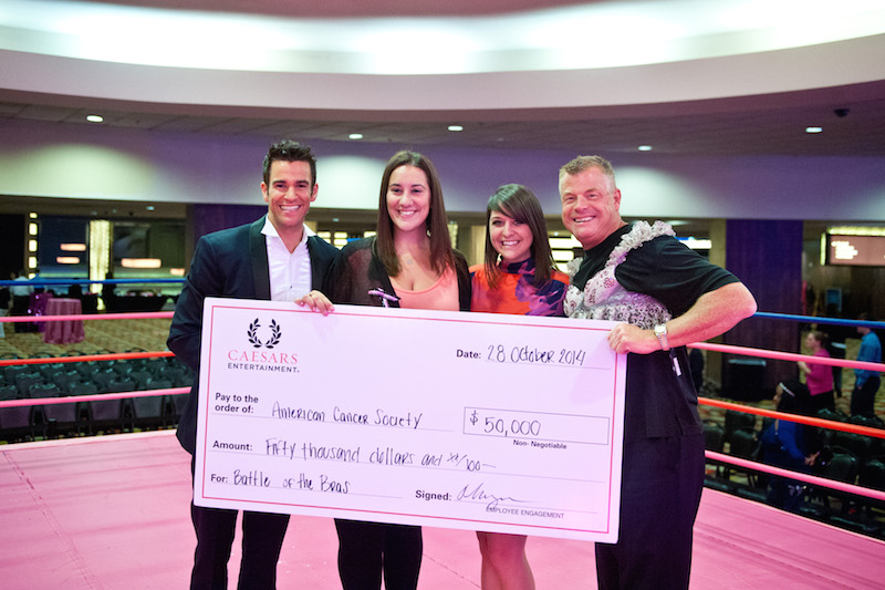 This ridiculousness raised $50,000 for breast cancer research!