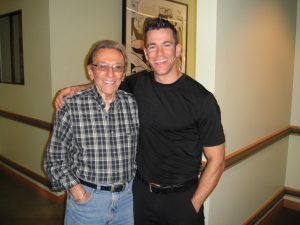 Jeff Civillico and Norm Crosby