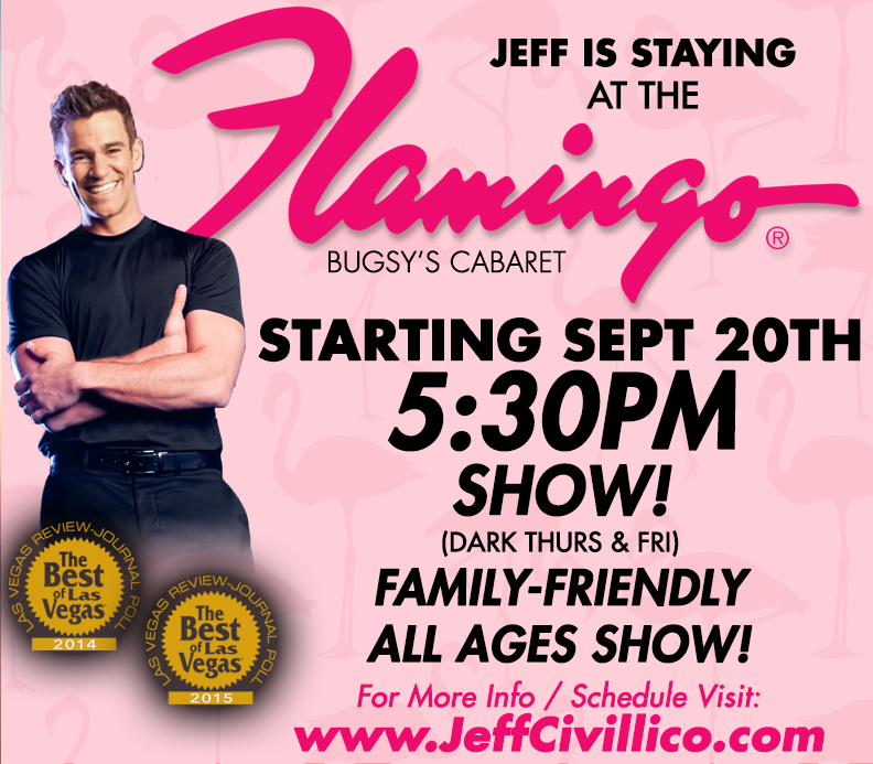 Jeff Civillico Flamingo Headilner