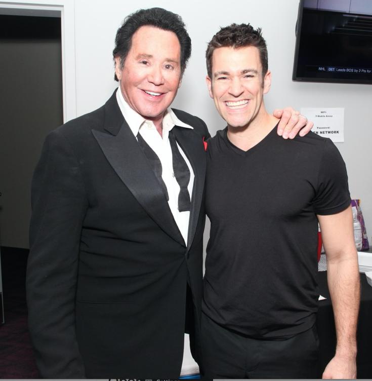 Jeff Civillico and Wayne Newton, Mr. Las Vegas