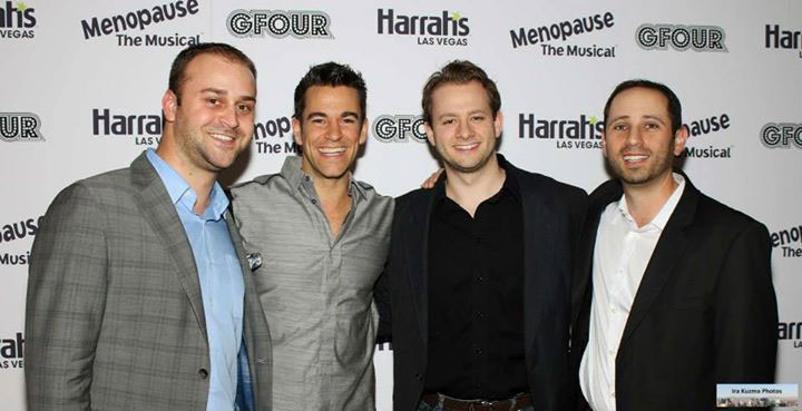 Herbie Pallotta, Social Media Manager, (Caesars Entertainment), Jeff Civillico, Matt Sedivy (Director of Operations, Jeff Civillico Inc), Paul Shlisky (Entertainment Manager, Caesars Entertainment)
