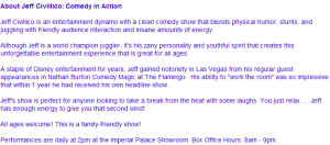 Las Vegas Show